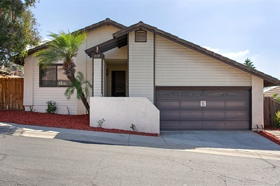 Escondido Single Family Home For Sale: 2178 Firethorn Gln