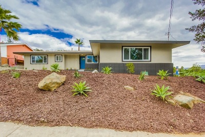 Del Cerro Single Family Home For Sale: 5725 Vinley Pl