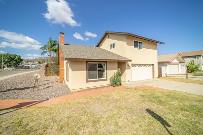 Santee Single Family Home For Sale: 10820 Grand Fork Dr