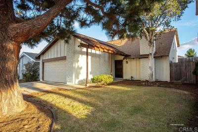 Chula Vista Single Family Home For Sale: 1354 Caliente Loop