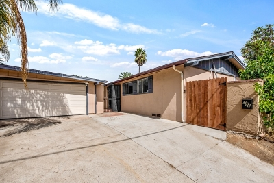 Escondido Single Family Home For Sale: 700 E Washington