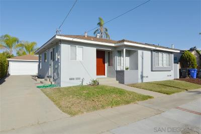 San Diego Single Family Home For Sale: 5226 Irwin Ave
