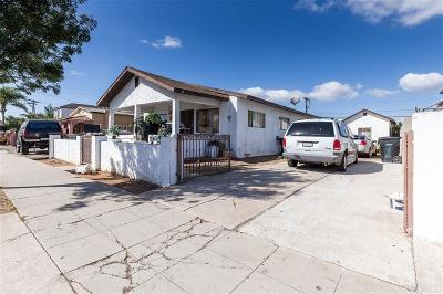 San Diego Single Family Home For Sale: 2826 Clay Ave