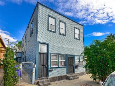 San Diego Multi Family 2-4 For Sale: 4133-4137 41st Street