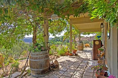 Valley Center Single Family Home For Sale: 11236 Calle Oro Verde