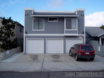 North Park, University Heights Multi Family 2-4 For Sale: 34th Street