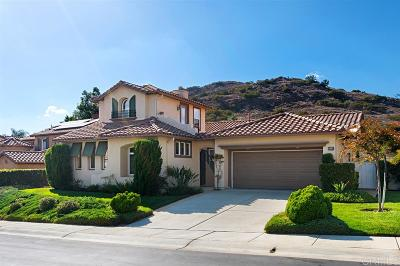 Escondido Single Family Home For Sale: 3519 Wild Oak Ln.