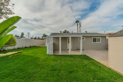 Clairemont Rental For Rent: 4571 Paola Way
