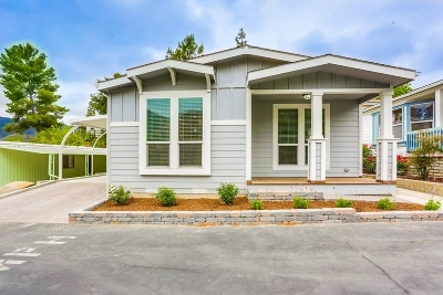 Citrus Gardens, Via Verde Estates, Lawrence Welk, Champagne Village, Rancho Escondido Mobile/Manufactured For Sale: 8975 Lawrence Welk Dr. #133