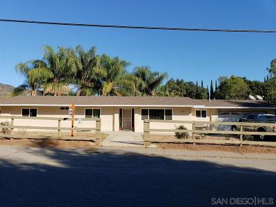 Escondido Single Family Home For Sale: 452 Paso Del Norte