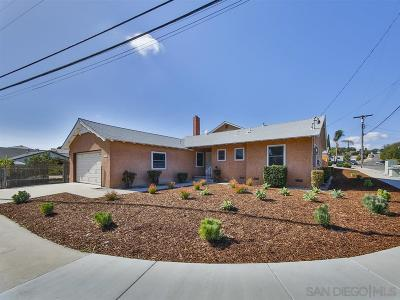 San Diego Single Family Home For Sale: 6364 Parkside Ave