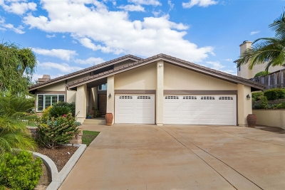Escondido Single Family Home For Sale: 3410 Lomas Serenas Dr