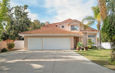 Oceanside Single Family Home For Sale: 4609 Doral Court
