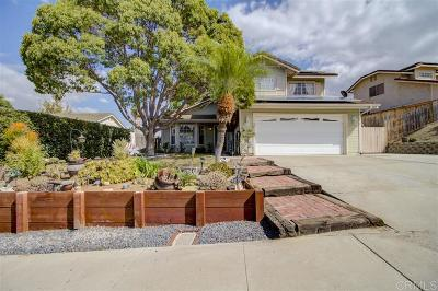 Oceanside Single Family Home For Sale: 5269 Champlain St.