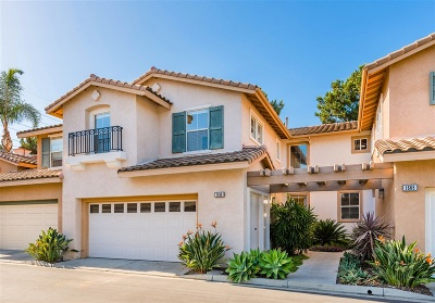 Carlsbad Townhouse For Sale: 1666 Plover Ct