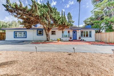 Bonita Single Family Home For Sale: 3855 Bonita Mesa Rd