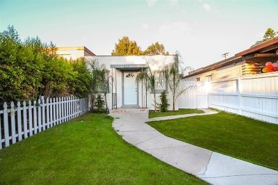 San Diego Multi Family 2-4 For Sale: 4320-22 48th Street