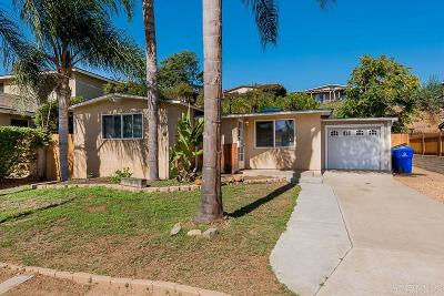 Bay Park Single Family Home For Sale: 4852 Gardena Ave