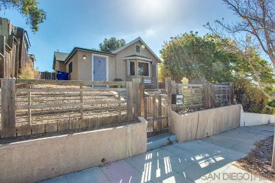 South Park, Golden Hill Single Family Home For Sale: 1835 Edgemont St