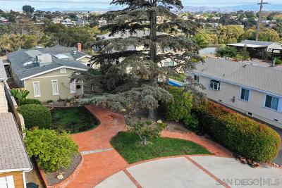 North Park, North Park - San Diego, North Park Bordering South Park, North Park, Kenningston, North Park/City Heights Single Family Home For Sale: 2955 Vancouver Ave