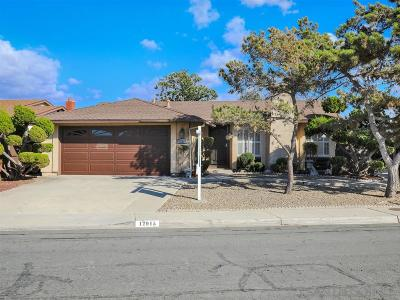 San Diego Single Family Home For Sale: 12915 Via Caballo Rojo