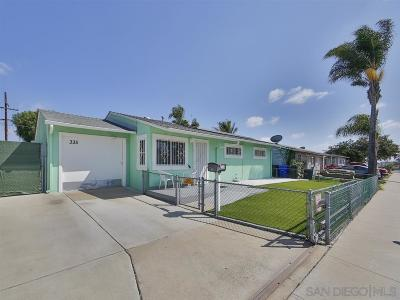 San Diego Single Family Home For Sale: 335 Encinitas Ave