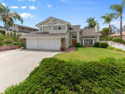 Carlsbad Single Family Home For Sale: 2841 Esturion St
