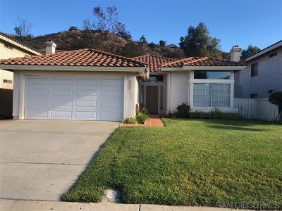 el cajon Single Family Home For Sale: 1757 Sea Pines Rd