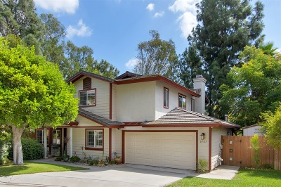 La Mesa Single Family Home For Sale: 6767 Alamo Court
