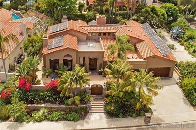 Cardiff By The Sea CA Single Family Home For Sale: $1,995,000
