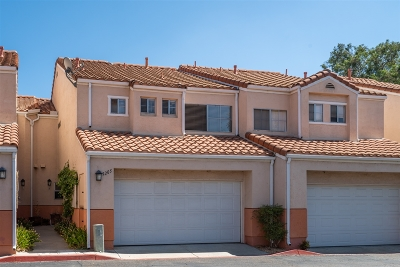 San Diego County Townhouse For Sale: 9205 Camino Del Verde