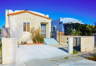 San Diego Multi Family 2-4 For Sale: 3655 44th Street
