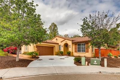 Chula Vista Single Family Home For Sale: 2605 Santa Barbara Ct