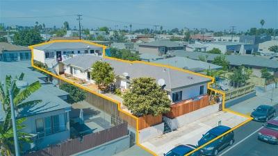San Diego Multi Family 5+ For Sale: 3834-40 Euclid Avenue