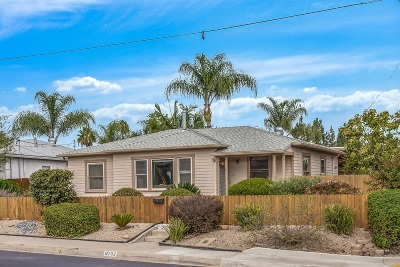 San Diego Single Family Home For Sale: 6792 Mohawk