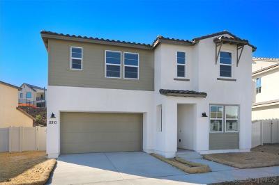 Santee Single Family Home For Sale: 8910 Trailridge Avenue