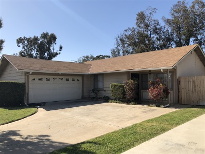 San Diego County Single Family Home For Sale: 954 Ednabelle Court