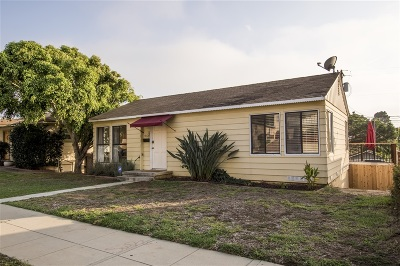Oceanside Single Family Home For Sale: 613 N Horne St.