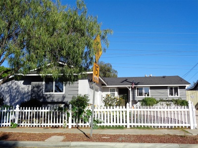 San Diego Single Family Home For Sale: 4353 Mount Castle Avenue
