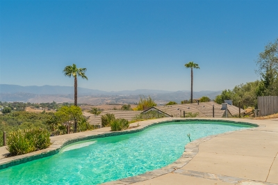 Fallbrook Single Family Home For Sale: 474 Solana Real