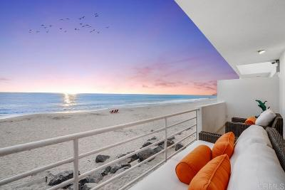 Del Mar Attached For Sale: 1750 Ocean Front