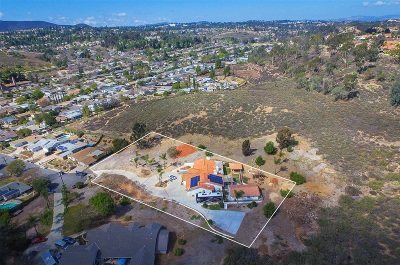 Poway Single Family Home For Sale: 12466 Vaughan Rd