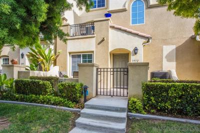 Chula Vista Townhouse For Sale: Caminito De La Cruz