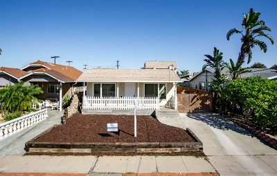 San Diego Multi Family 2-4 For Sale: 3438-3440 Monroe Ave