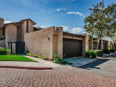 Escondido Townhouse For Sale: 140 E El Norte Pkwy #44