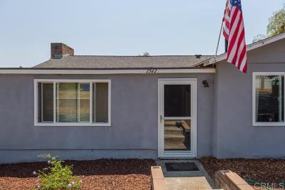 Single Family Home For Sale: 7547 Zemco Dr