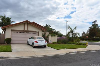 Oceanside Single Family Home For Sale: 4839 Sumac Pl
