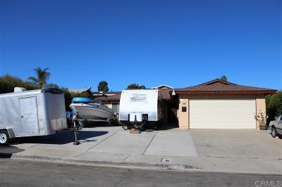 San Diego Single Family Home For Sale: 138 S Royal Oak Dr