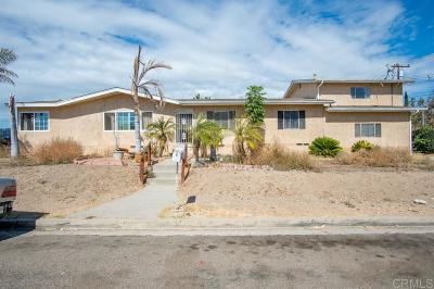 Single Family Home For Sale: 9312 Saint George St.