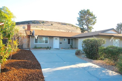 Poway Single Family Home For Sale: 12533 Buckskin Trl